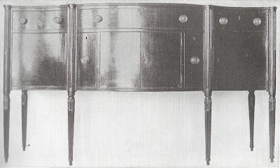 old sheraton sideboard - 1790