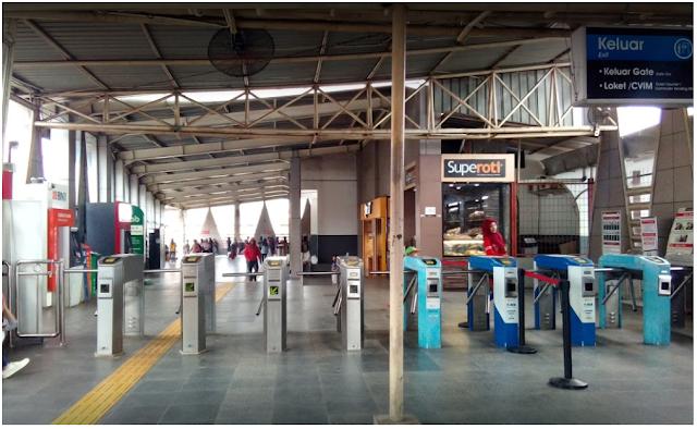Jadwal KRL Stasiun Citayam