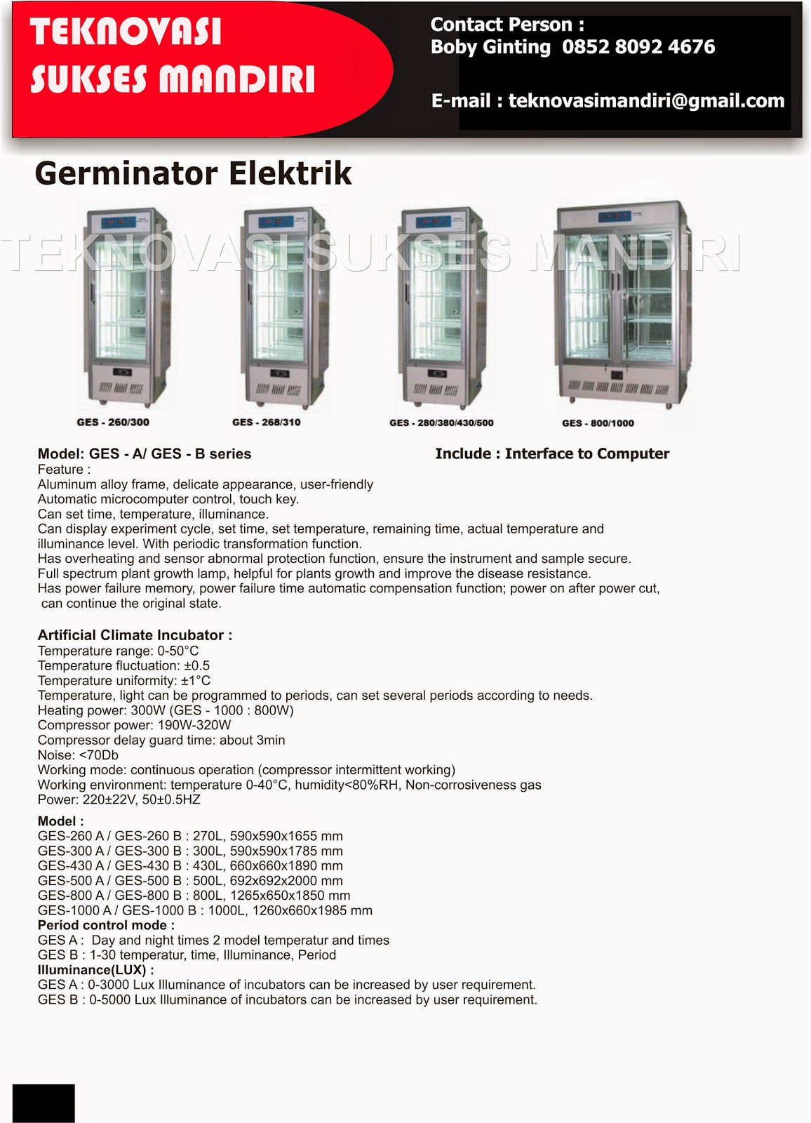 Electric Germinator