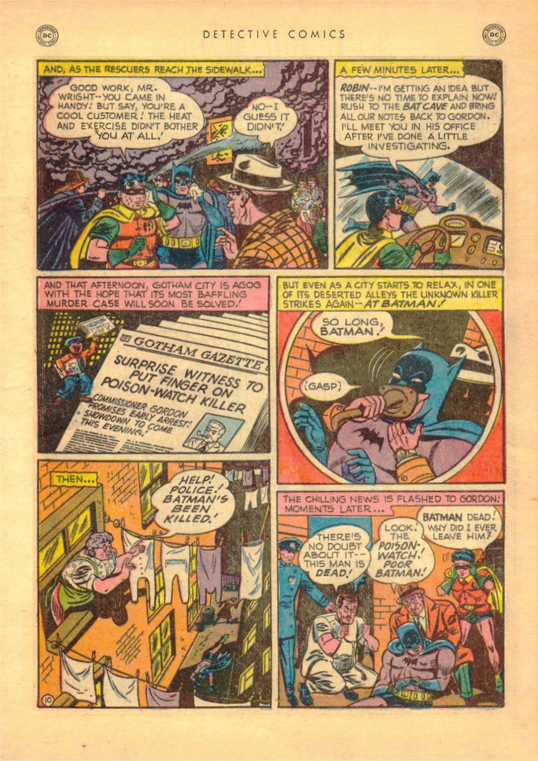 Read online Detective Comics (1937) comic -  Issue #161 - 12