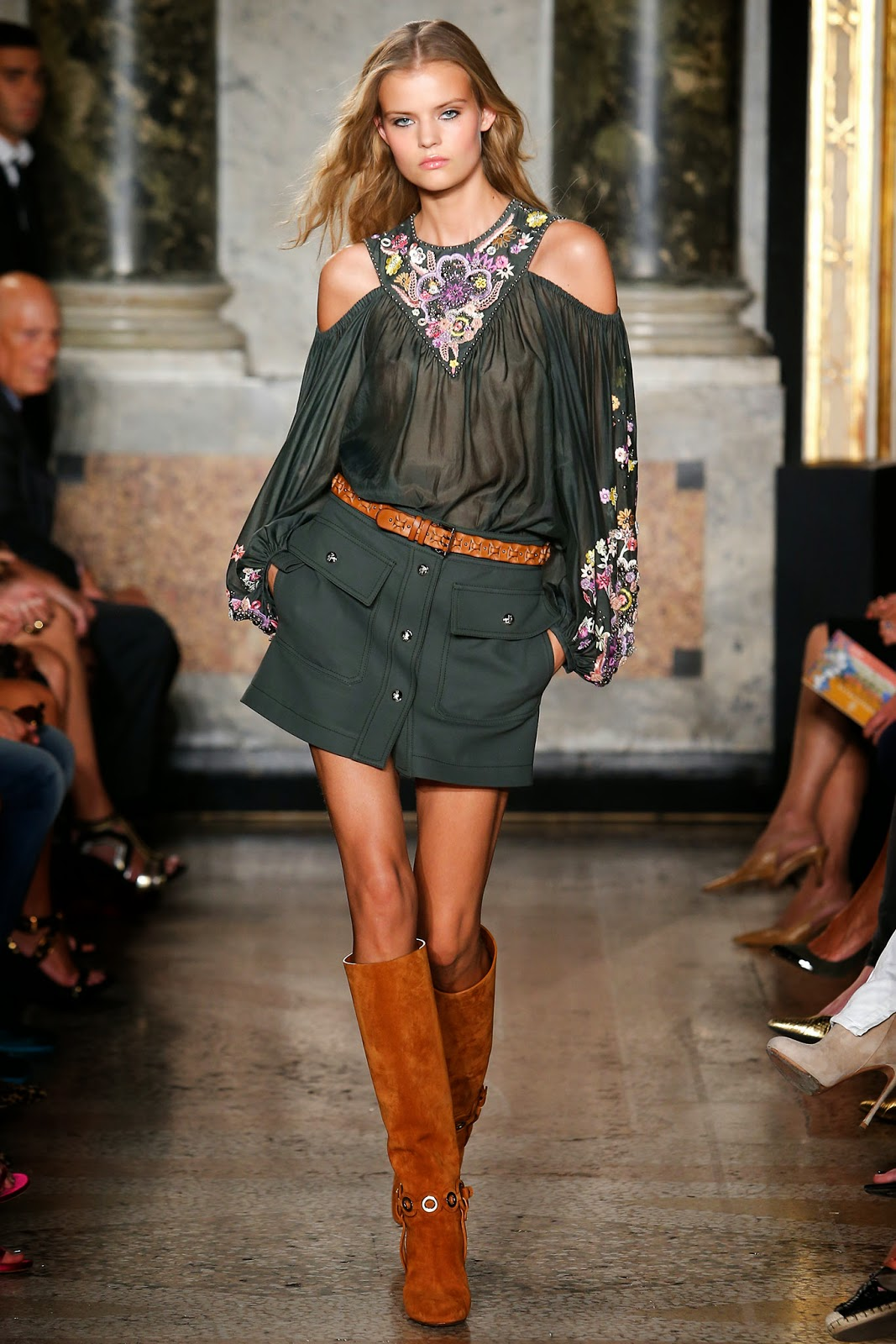Concierge4fashion The Most Beautiful Girl In The World: Concierge4Fashion: Emilio Pucci Spring 2015 Ready-to-Wear
