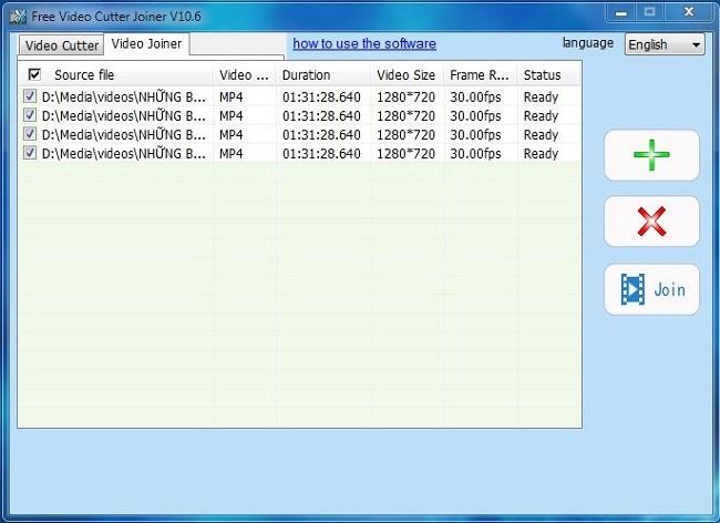 ghép video không cần re-encode