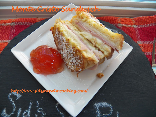 Monte Cristo Sandwich with Jelly