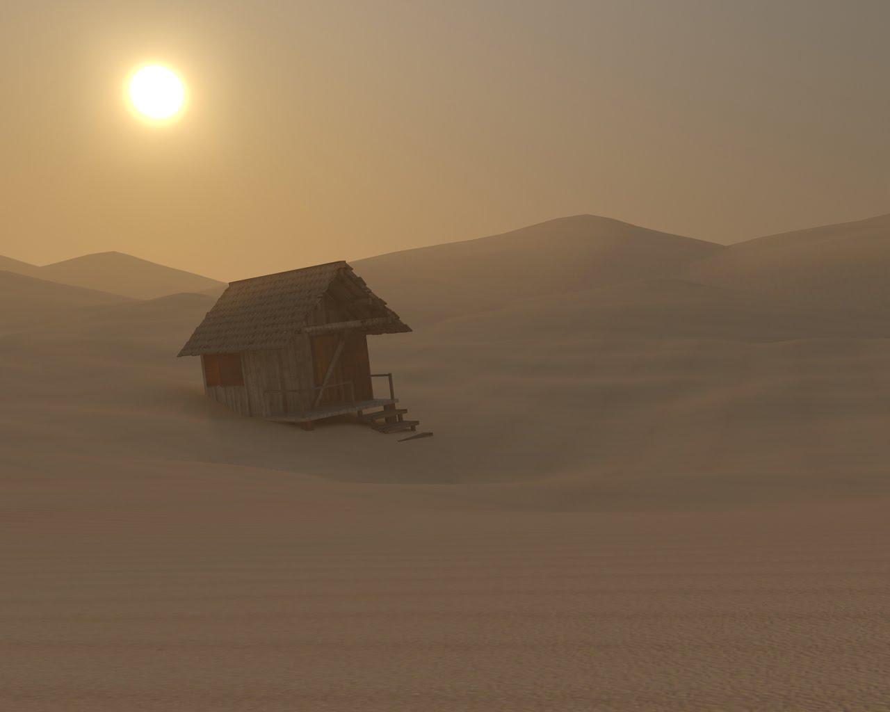 Como abrigo no deserto