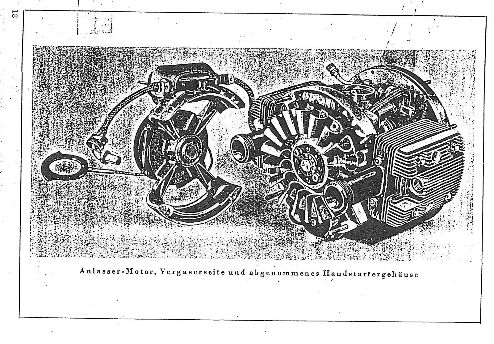 Riedel Anlassermotor starter motor