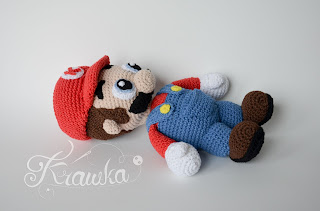 Krawka: Mario brothers - game nintendo inspired crochet plush amigurumi pattern by Krawka