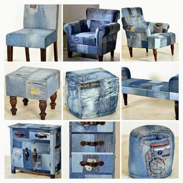 Genial Denim Furniture