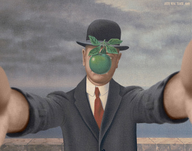 The Son Of Man - René Magritte, 1964