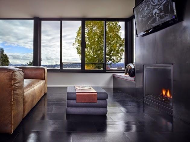 Rumah ini dirancang untuk keluarga kecil Desain Rumah Kecil Tiga Lantai Desain Rumah Kecil Tiga Lantai