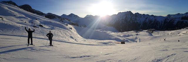 горнолыжный инструктор в Австрии Ишгль