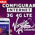 Configurar Internet APN 3G/4G LTE Virgin Mobile Colombia 2018