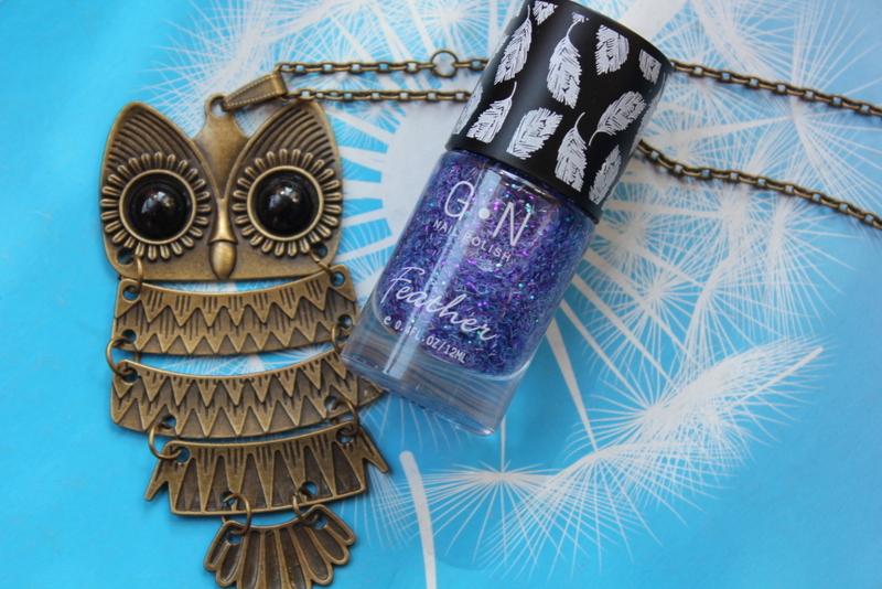 Отзыв: Лак для ногтей «Перышко» - Colorful Feather Glitter Nail Polish.