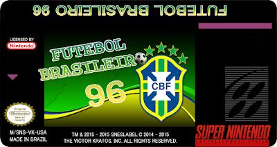 Rom de Futebol Brasileiro 96 - Download - SNES