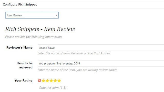 Wordpress post me Star Rating system kaise lagaye