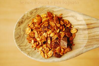 granola ricetta senza zucchero