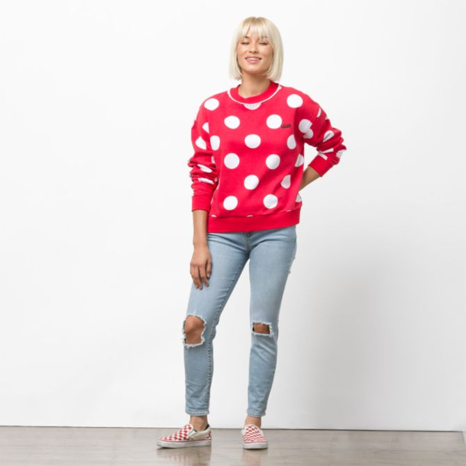 Disney Vans Minnie Sweatshirt