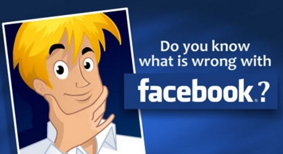 What is wrong with facebook?