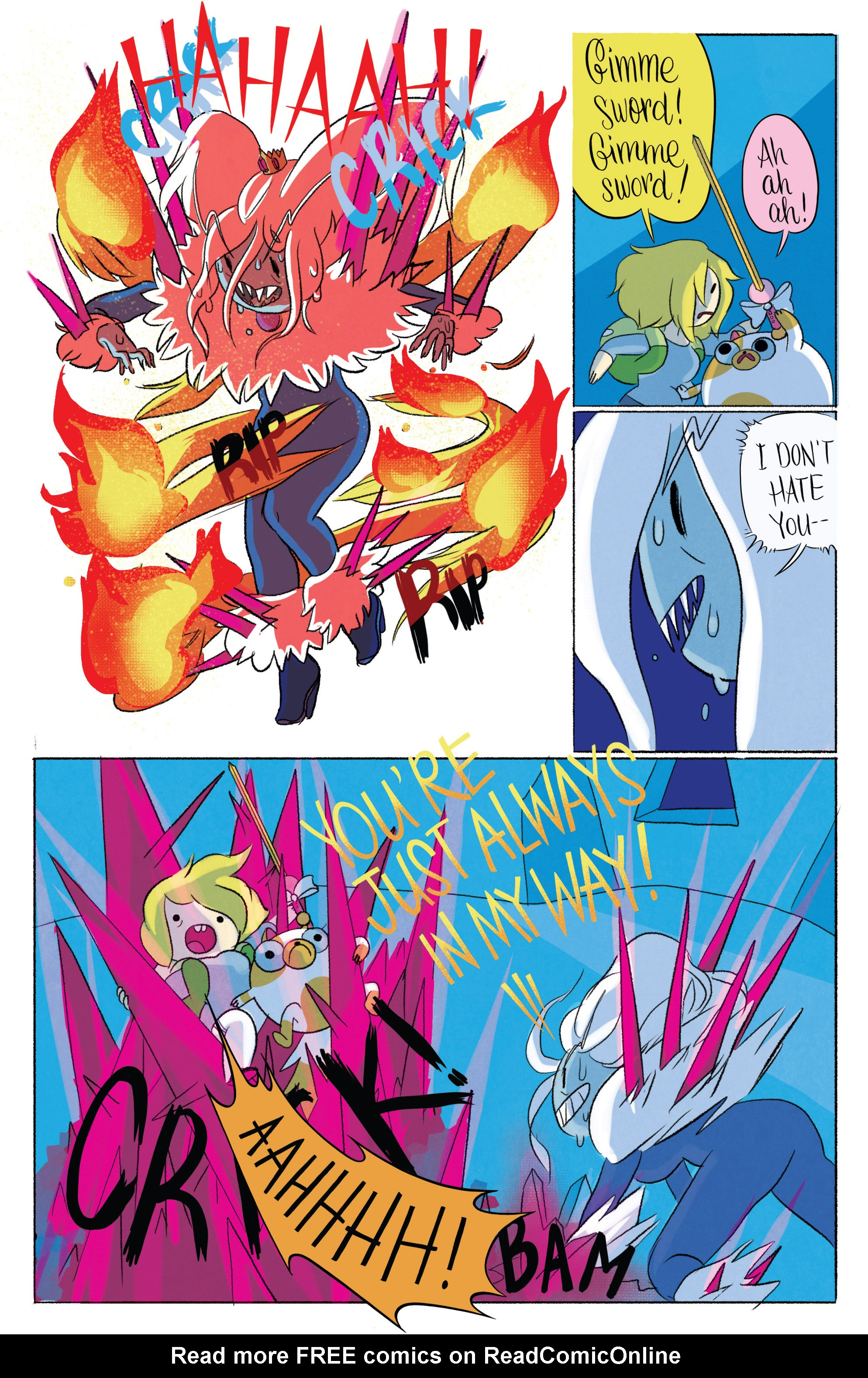Read online Adventure Time with Fionna & Cake comic -  Issue #6 - 12