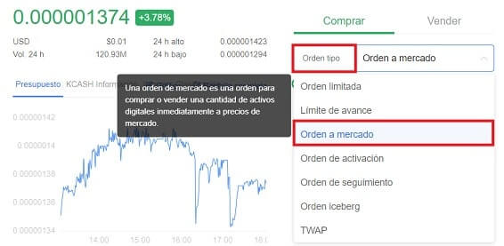 Comprar y Guardar en Wallet TENX COIN 'PAY'