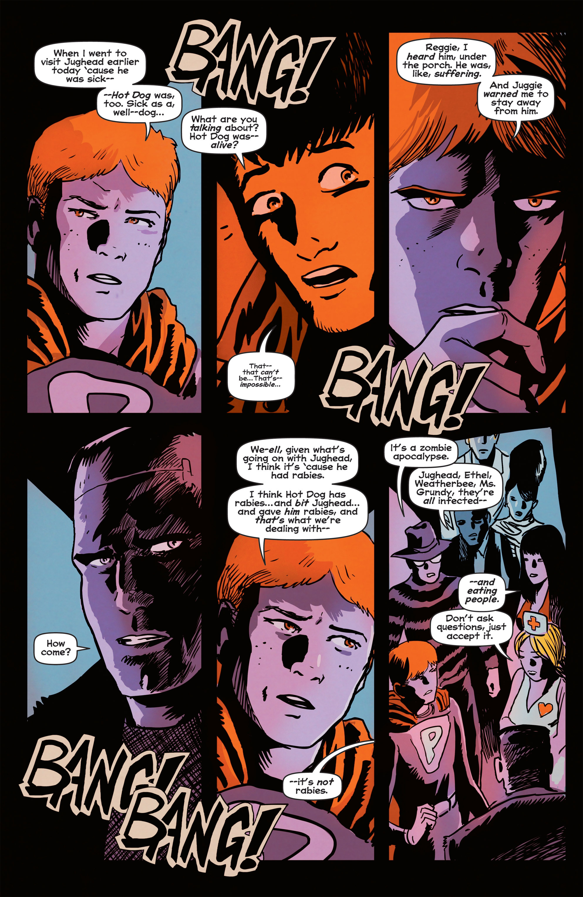 Read online Afterlife with Archie comic -  Issue #2 - 22