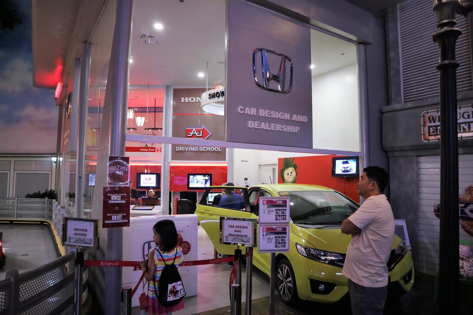 Honda and A1 Driving School in KidZania Manila