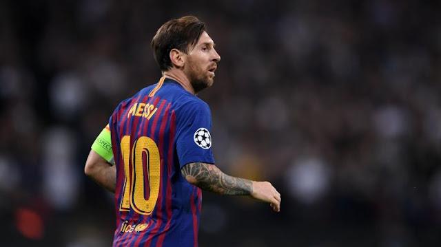 Месси признан игроком недели в Лиге чемпионов