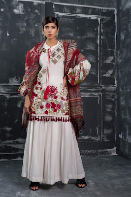 Ethnic by Outfitters new summer lawn collection 2017