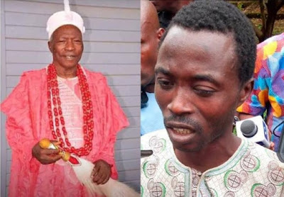 I killed the king to claim his throne — Suspect