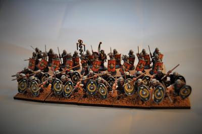 Showcase - Warlord Games Early Imperial Roman Legionaries, Applying Transfers