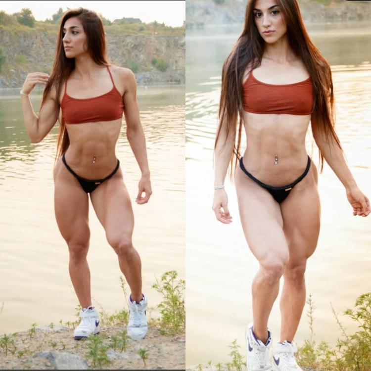femal muscle Bakhar Nabieva