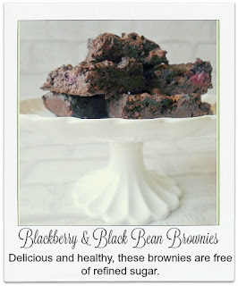 These unusual sounding brownies are definitely worth a try, family & friends will never guess they contain blackbeans! They are delicious & healthy and are free of refined sugar and flour.  GBBO 2015 inspired.
