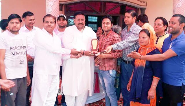 Akhil Bharatiya Brahman Sabha did the same to BSUP Top to Sahupura's Deepak Bharadwaj