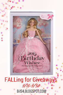 Barbie 2015 Birthday Wishes Doll Giveaway