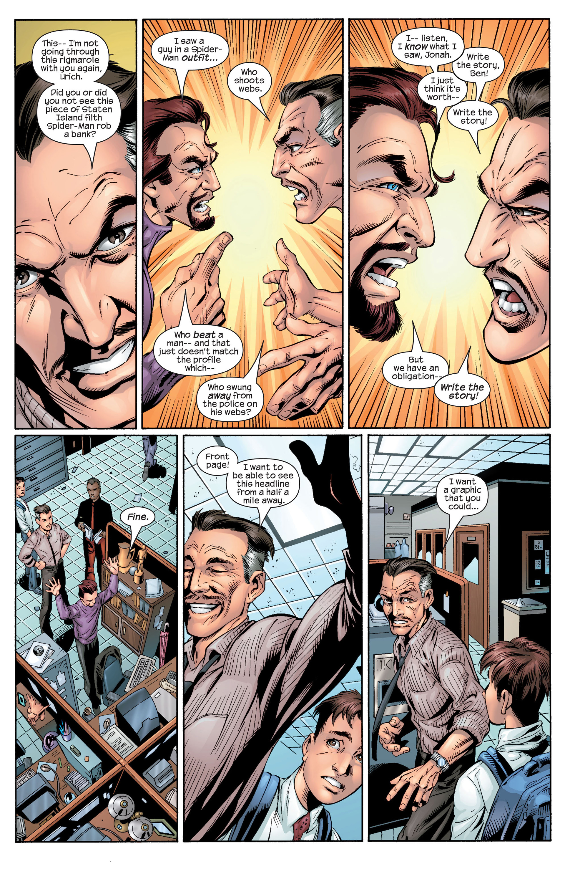 Read online Ultimate Spider-Man (2000) comic -  Issue #29 - 10