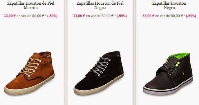 Ejemplos de zapatos de caña alta de esta oferta