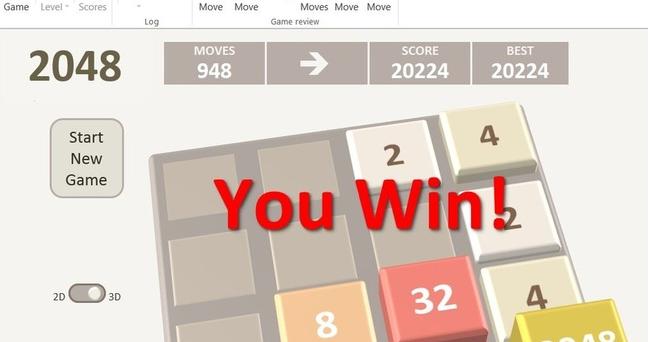Raj Excel: Amazing Excel Game - 2048 tiles Game Free download
