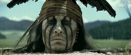 Screen Shot Of Hollywood Movie The Lone Ranger (2013) In Hindi English Full Movie Free Download And Watch Online at worldfree4u.com