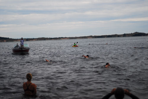 Hamlin Lake swim 2011