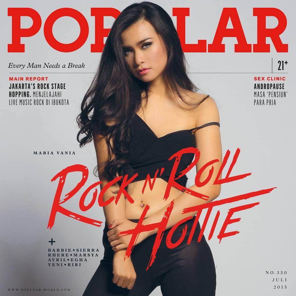 Image Result For Maria Vania Model Cover Popular Juli