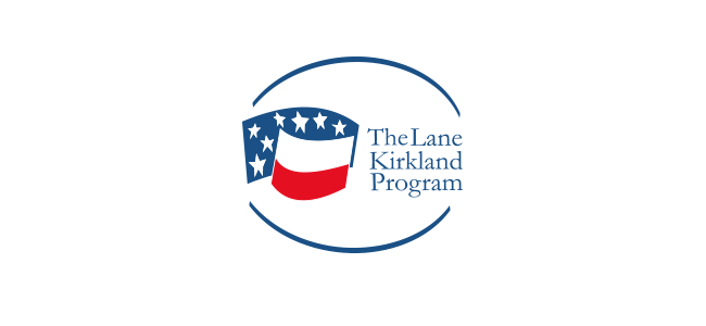 Logo Stypendium im. Lane`a Kirklanda