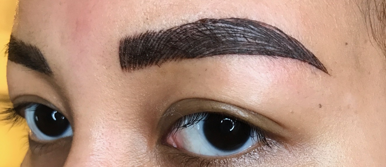 Eyebrow microblading, 2nd touch-up - Beauty by Keo