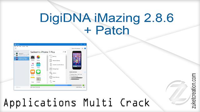 DigiDNA iMazing 2.8.6 + Patch  |    121 MB