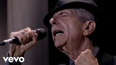 """¡Espectacular!... Leonard Cohen nos deleita con una de las canciones mas hermosa """"Hallelujah"""". ¡Disfrute y comparta!."""