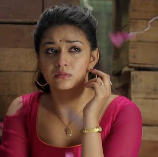 Keerthy Suresh in Pink Dress with Cute Expressions in Saamy Square 2