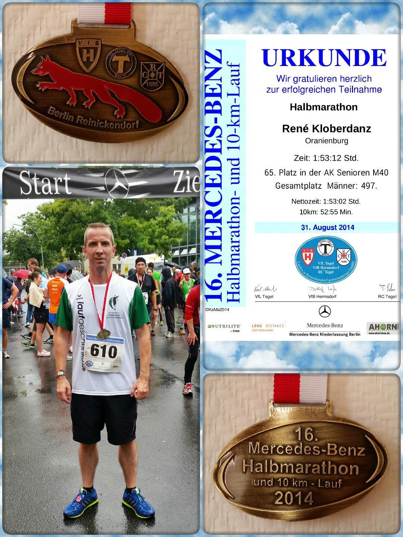 erster halbmarathon zeit