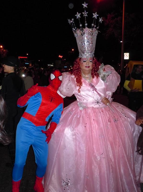Halloween Spiderman Glinda costume