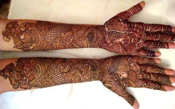 Bridal Mehndi Latest Design : Bridal mehndi ki design makedes.com
