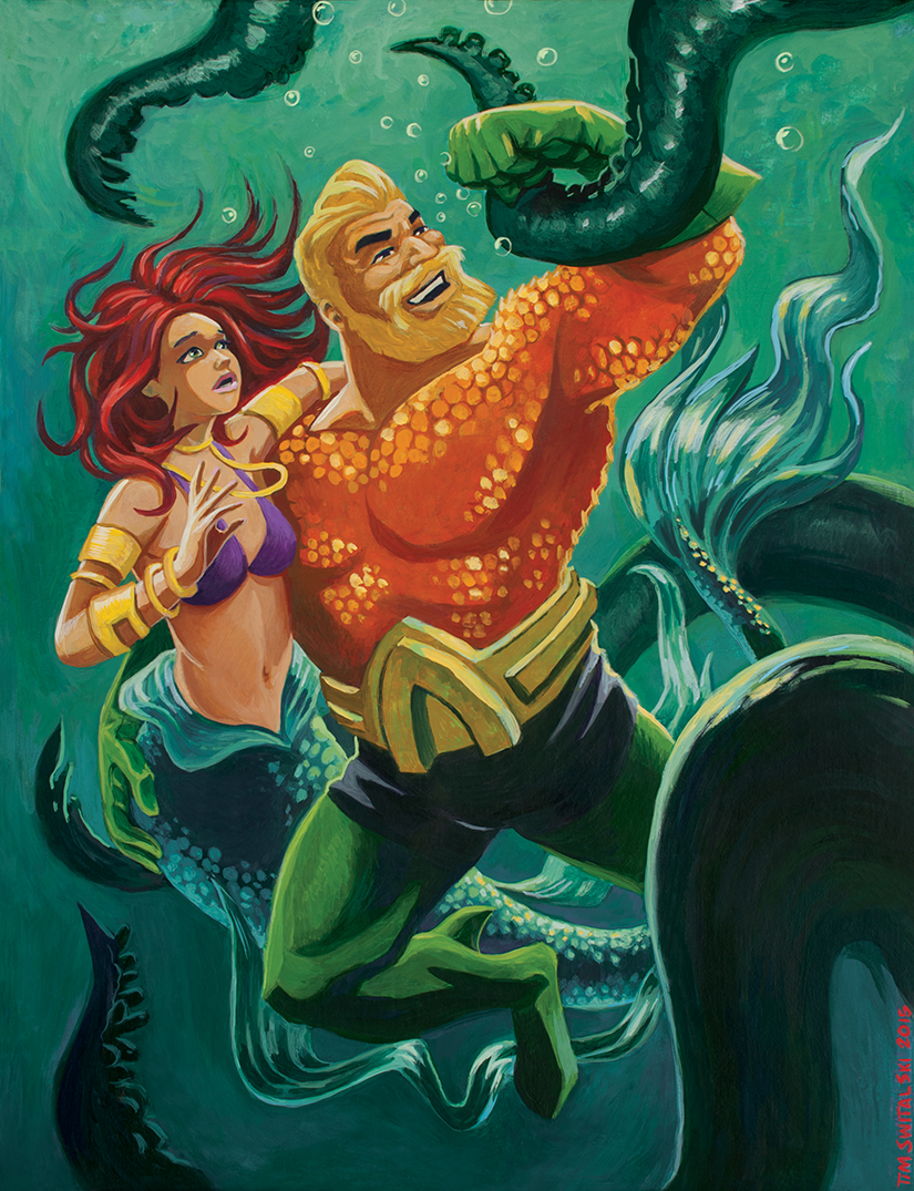 Batman: The Brave and the Bold - Aquaman's Outrageous ...  |Batman The Brave And Bold Aquaman
