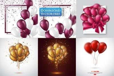 6-nen-do-hoa-bong-bay-voi-khung-thiep-mung-balloon-background-vector-6489