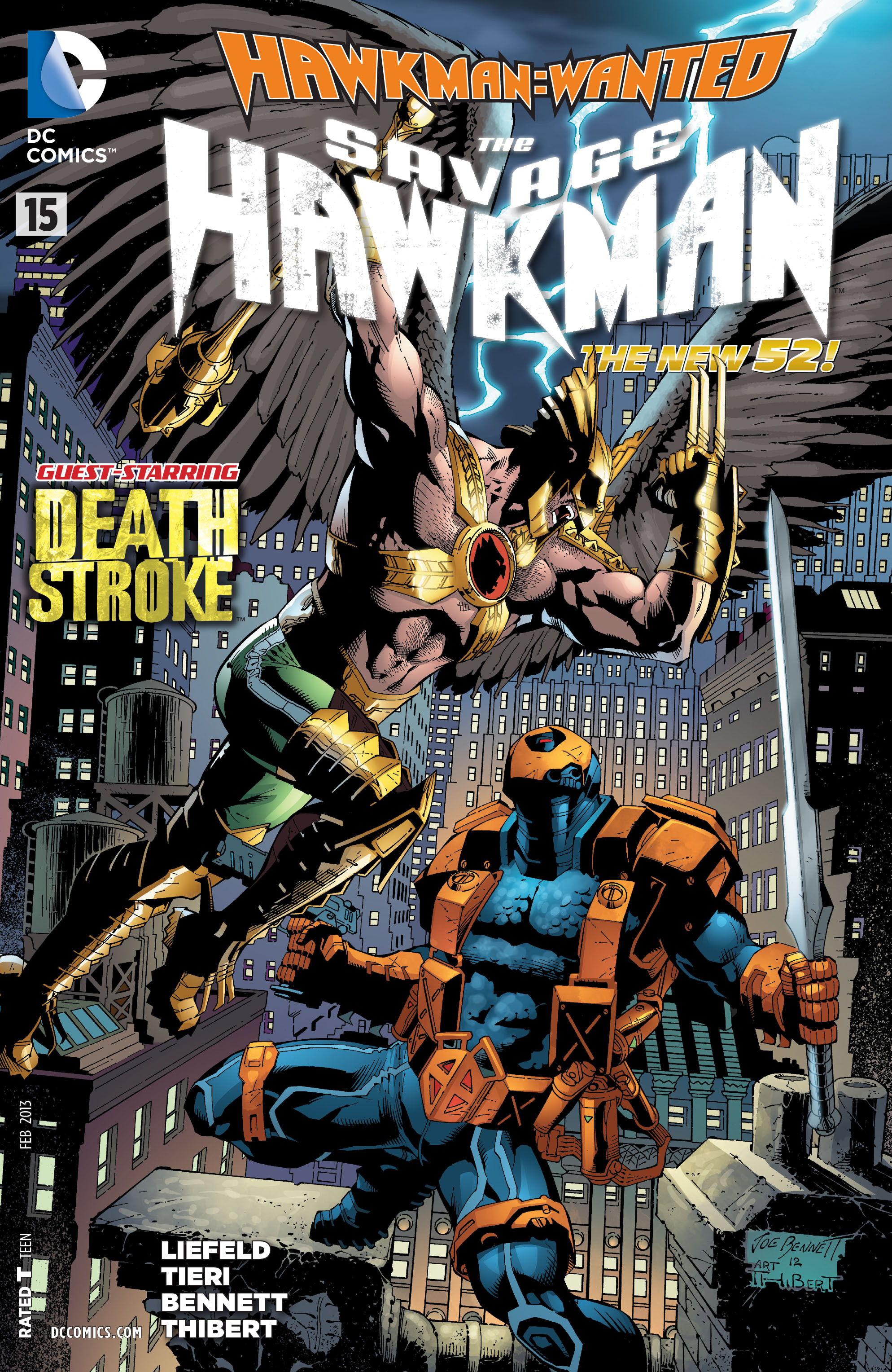 The Savage Hawkman issue 15 - Page 1